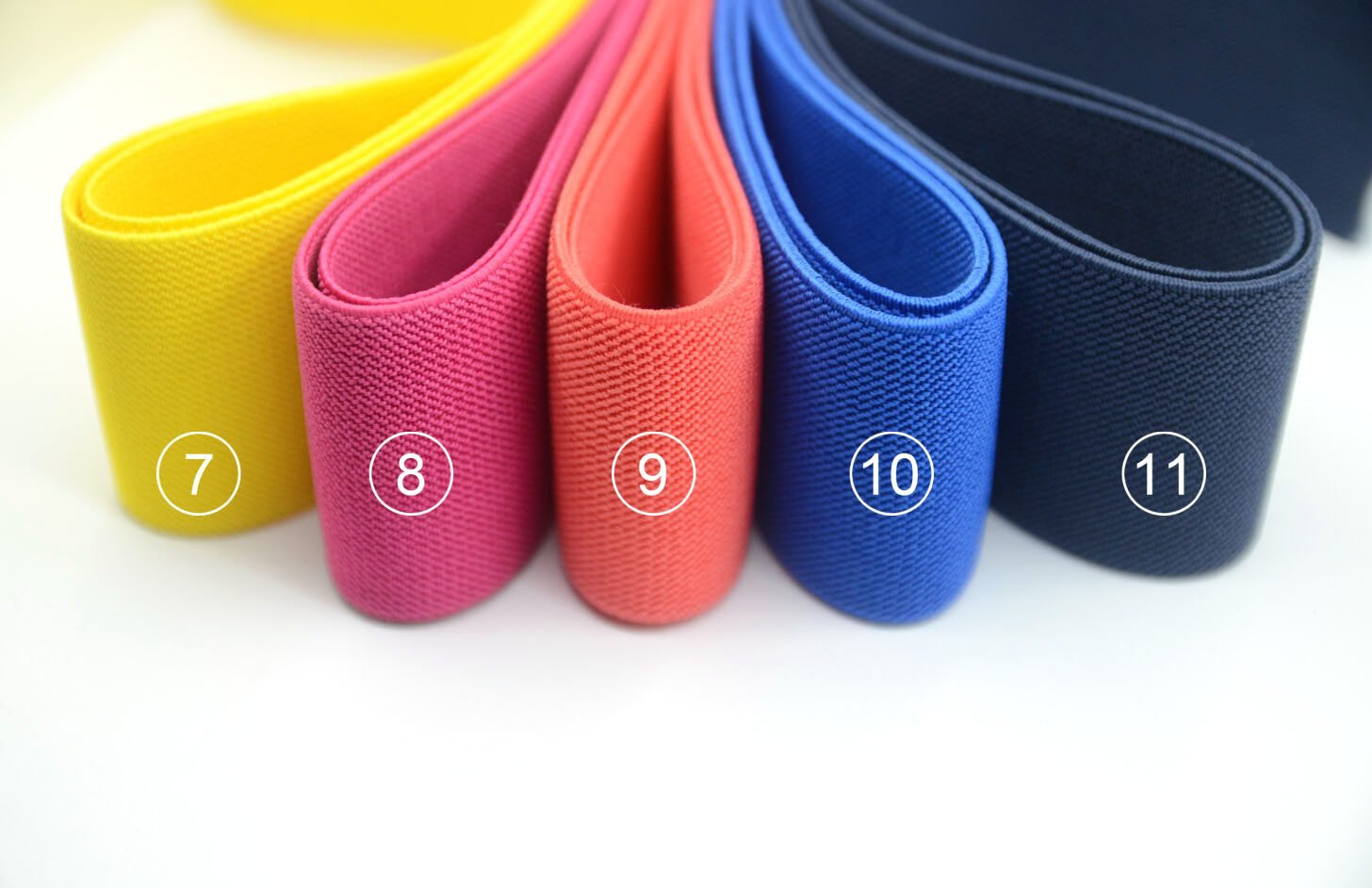2 Quot 50mm Wide Solid Colored Waistband Elastic By The Yard