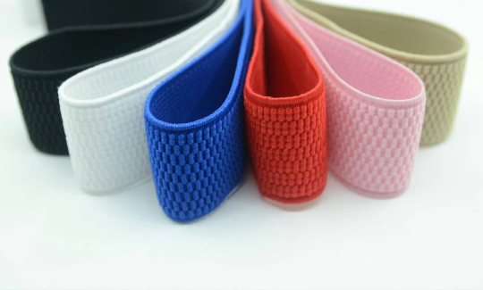 1.5 inch 38mm  Colored Patterned Elastic, Waistband Elastic -1 Yard