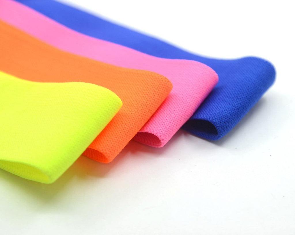 1 1/2, 1 1/4 Inch 38/30mm wide Solid Colored Plush Comfortable Elastic Band by the Yard,Soft Waistband Elastic