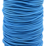 0.1 inch / 2.5 mm Ruber Round Elastic Cord String Band 90 Yard /270 ft - strapcrafts