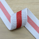 1.5inch 40mm Wide  Glitter Striped Elastic Band , Colored Elastic Trim, Elastic Ribbon,  Elastic by the Yard, - strapcrafts