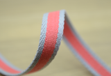 Striped Cotton webbing, 3/4 inch 20mm wide,Belt Webbing - strapcrafts