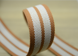 Striped Cotton Webbing,1.5 inch 38mm wide cotton webbing  ,Multi color cotton webbing - strapcrafts
