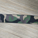 1.5 inch (42mm) Wide Colored Camouflage Stretch Soft Elastic Band