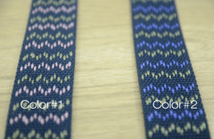 1 1/2 inch 38mm Heavy Duty Patterned Cotton webbing - strapcrafts