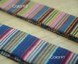 1 1/2 inch 38mm Heavy weight Patterned Cotton webbing - strapcrafts
