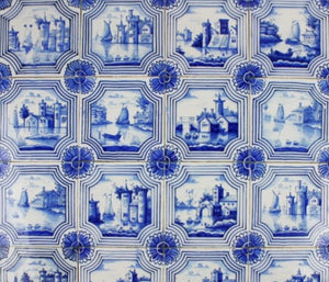 Antiques - Antique Tiles Landscape A