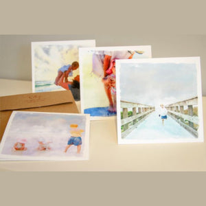 Custom Watercolor notecards