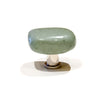 Knobs & Pulls - Green Pebble Knob Set of 2