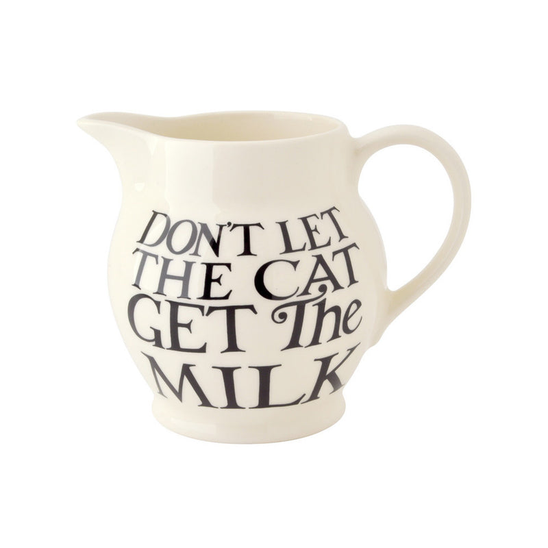 Emma Bridgewater - Black Toast All Over 1/2 Pint Jug