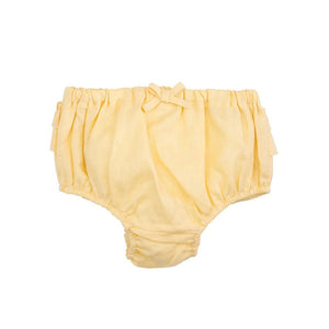 Elegant Baby - Baby Girl Bloomer 6-12M Yellow