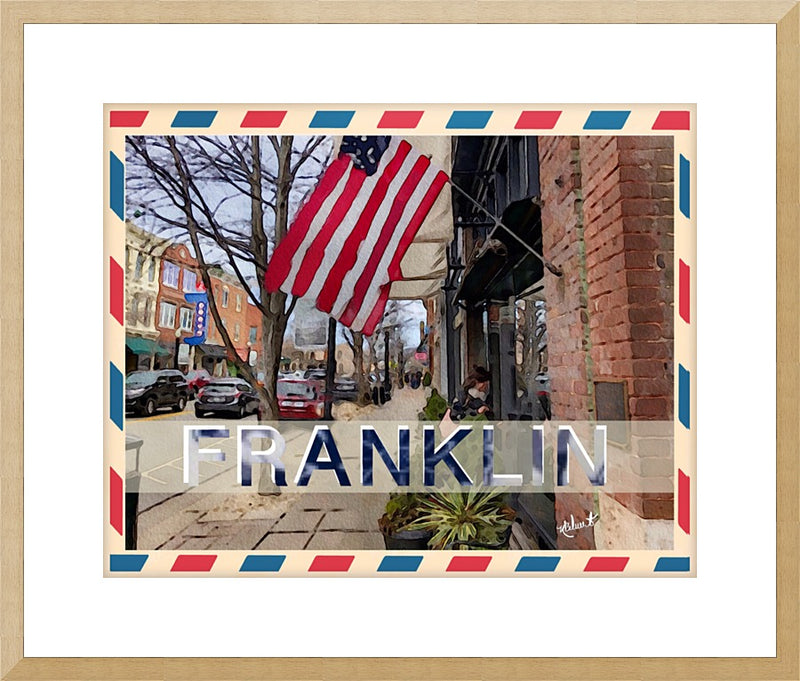 "IPHONE ART - ""Franklin, TN"""