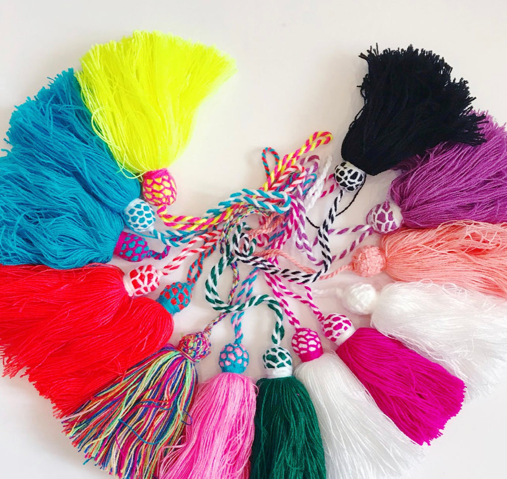 "BEACH FUN: Tassels ""Large"""