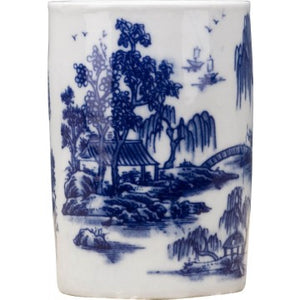 Classic Porcelain - BLUE AND WHITE PENHOLDER