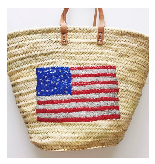 BEACH FUN: USA Tote