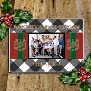 "Holiday Card: 5x7"" / Photo: 3x5"