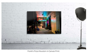 """Iconic Houston"" by Jeffrey Chen : FRANK'S PIZZA"