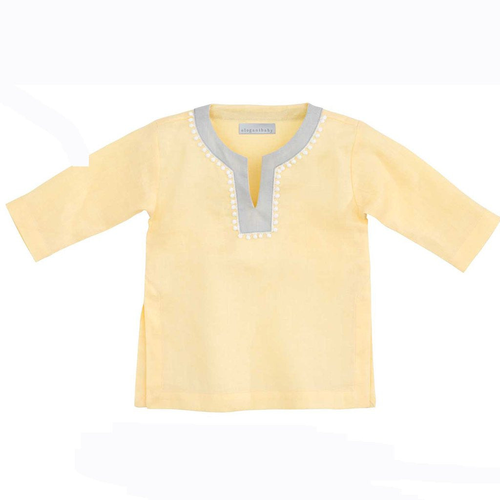 Elegant Baby - Girls Tunic Yellow 6-12M