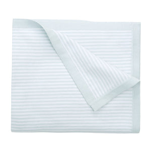 "Elegant Baby - Striped Blanket 30""x 40"" - Blue"