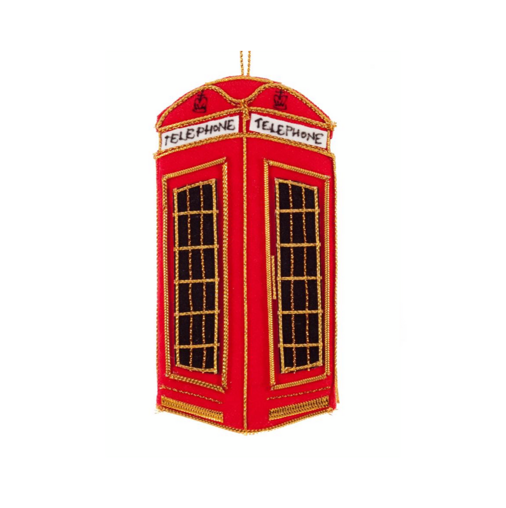 St. Nicolas - Ornament Telephone Box
