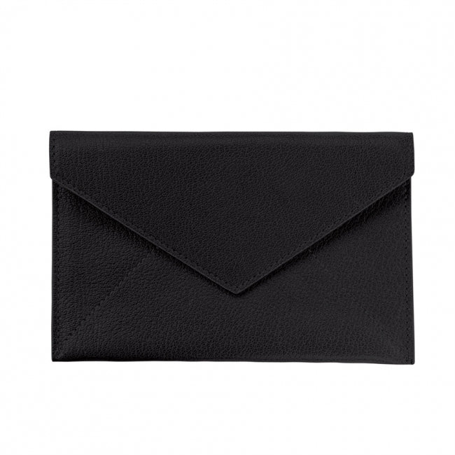 Medium Envelope Goatskin Leather - Personalized Stationery