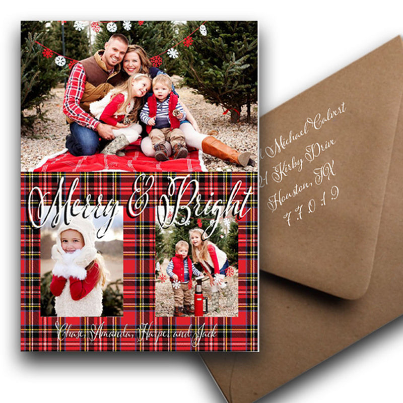 Merry and Bright: 7x5