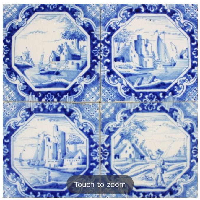 Antiques - Antique Tiles Landscape B