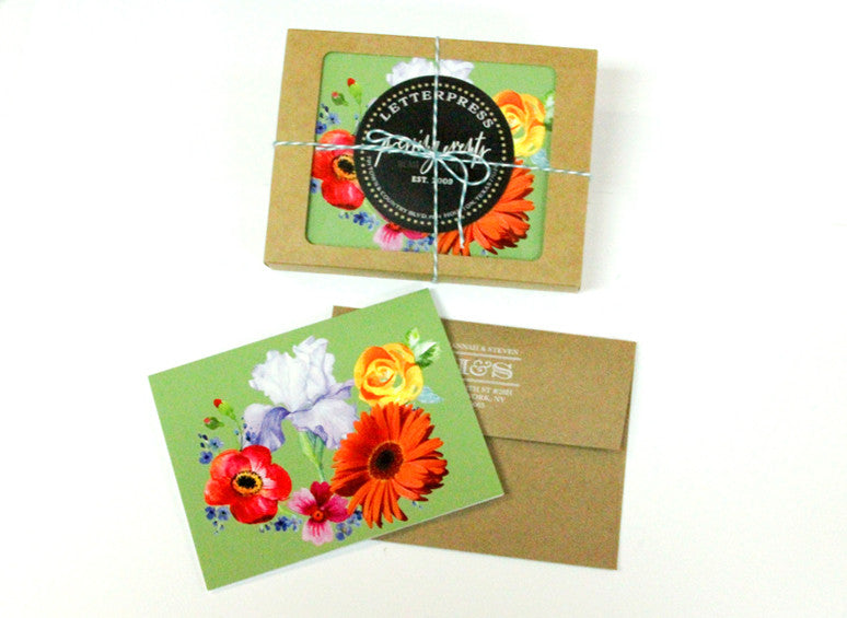 Stationery: Botanical Notecards