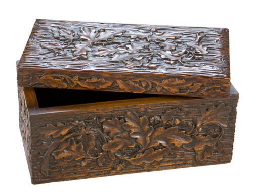 OK CASTING - Oak Leaf Box