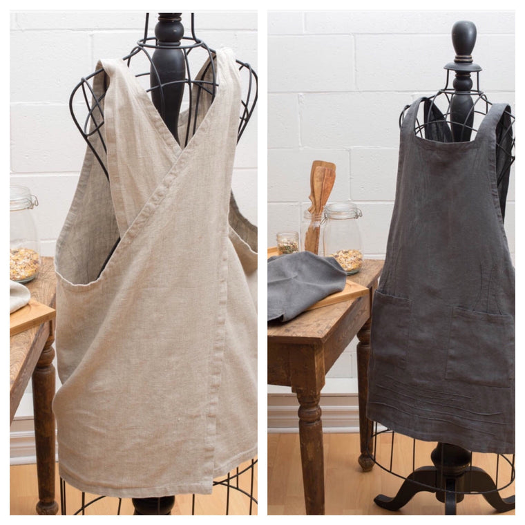 Apron: Linen Wrap-Around