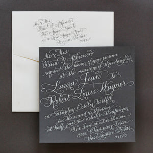 Wedding Invitation - Atkinson Collection