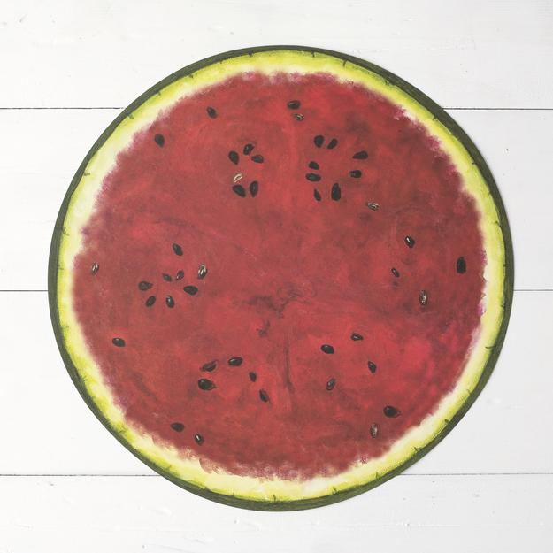 Hester & Cook: Placemat - Die Cut Watermelon