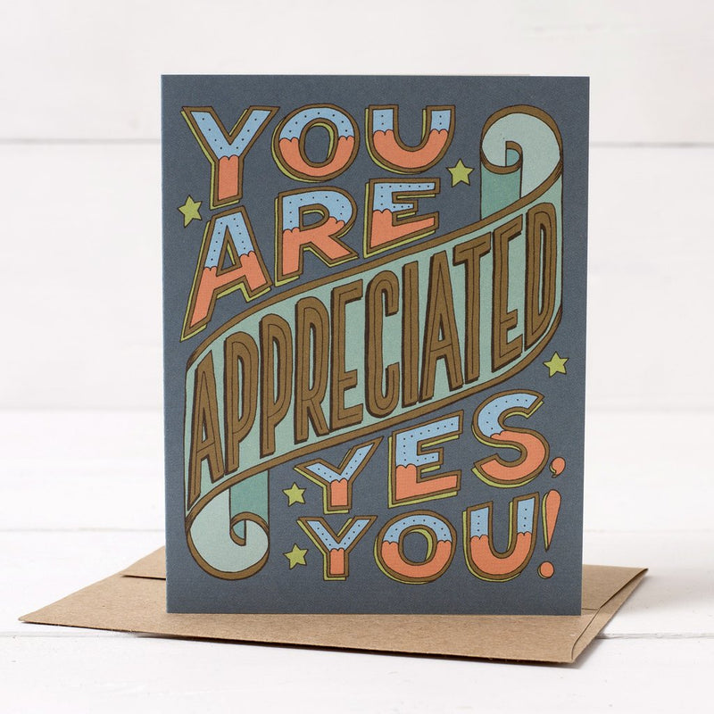 Hester & Cook: GREETING CARD YOU ARE APPRECIATED