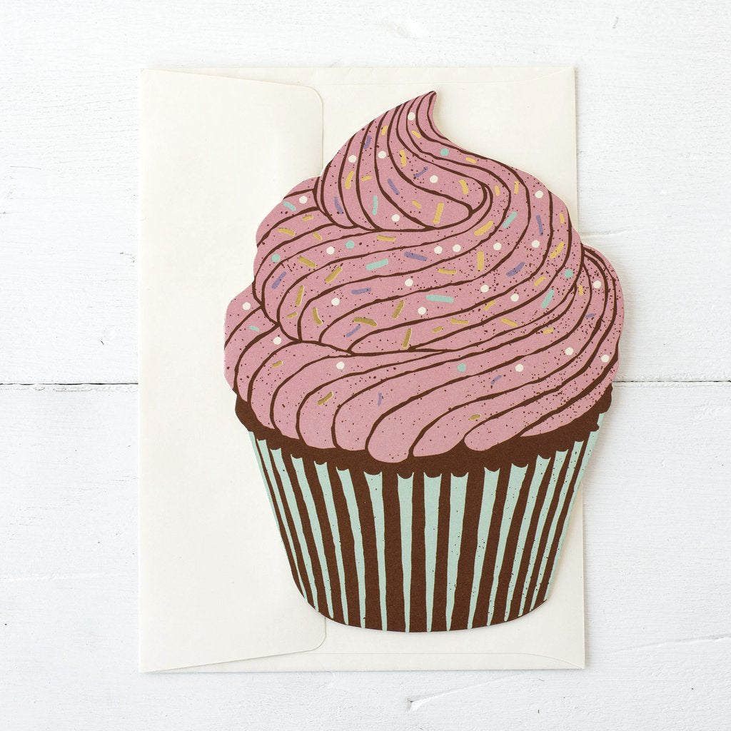 **NEW** Hester & Cook - GREETING CARD CUPCAKE