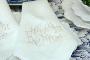 A Custom Design Arabesque  Monogram