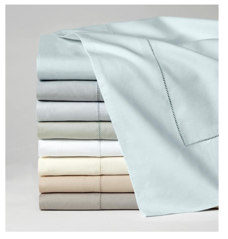 SFERRA - Celeste Queen Flat Sheet - White