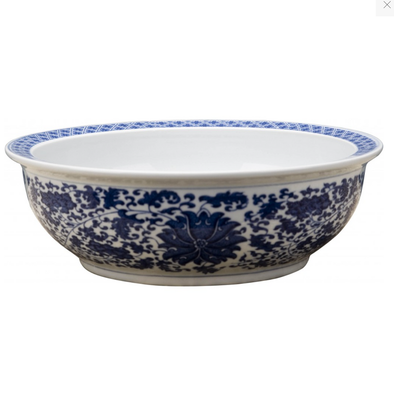 Classic Porcelain - BLUE AND WHITE BOWL