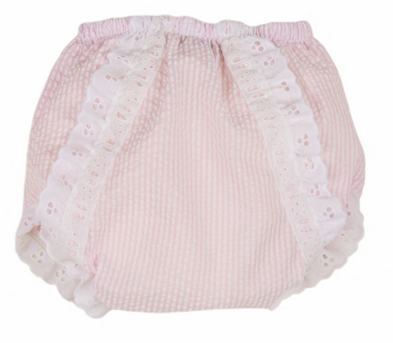 Beaufort Bonnet - Belle Bloomer - Pink Savanah Seersucker