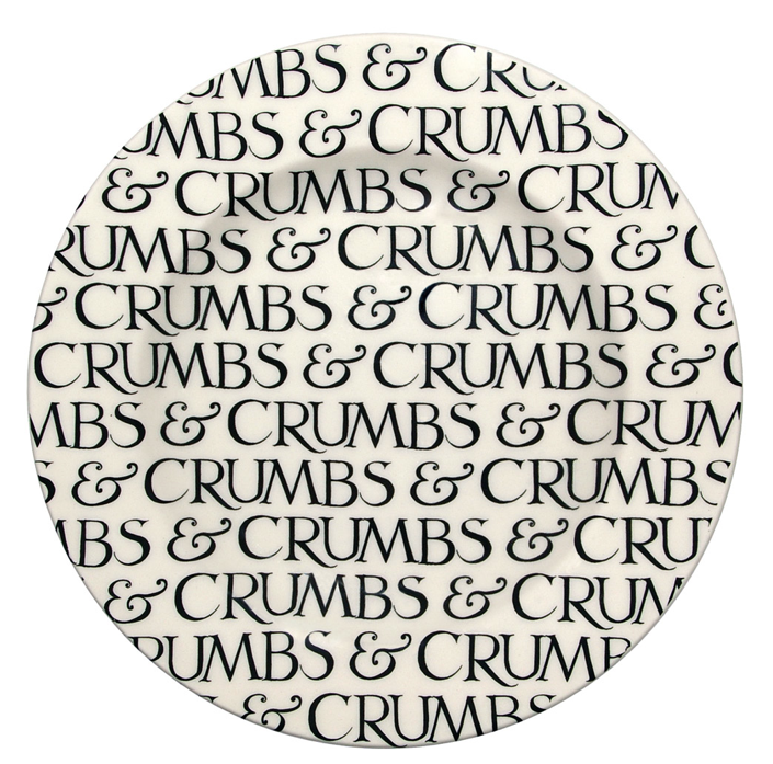 Emma Bridgewater - Black Toast Crumbs 6 1/2