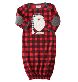 Mud Pie - Santa Sleep Gown