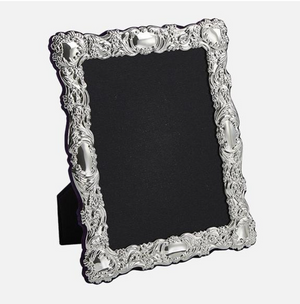 CARRS SILVER SHEFFIELD ENGLAND - Traditional Sterling Silver Photo Frame 10X8