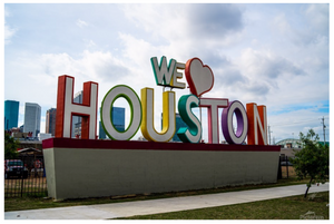 """Iconic Houston"" by Jeffrey Chen : We Love Houston"