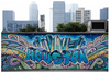 """Iconic Houston"" by Jeffrey Chen : Houston Graffiti"