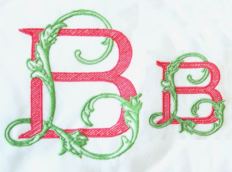 Bobbin Design BL Monogram Digitized