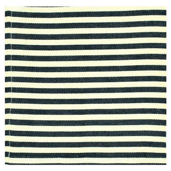 Black Striped Napkin