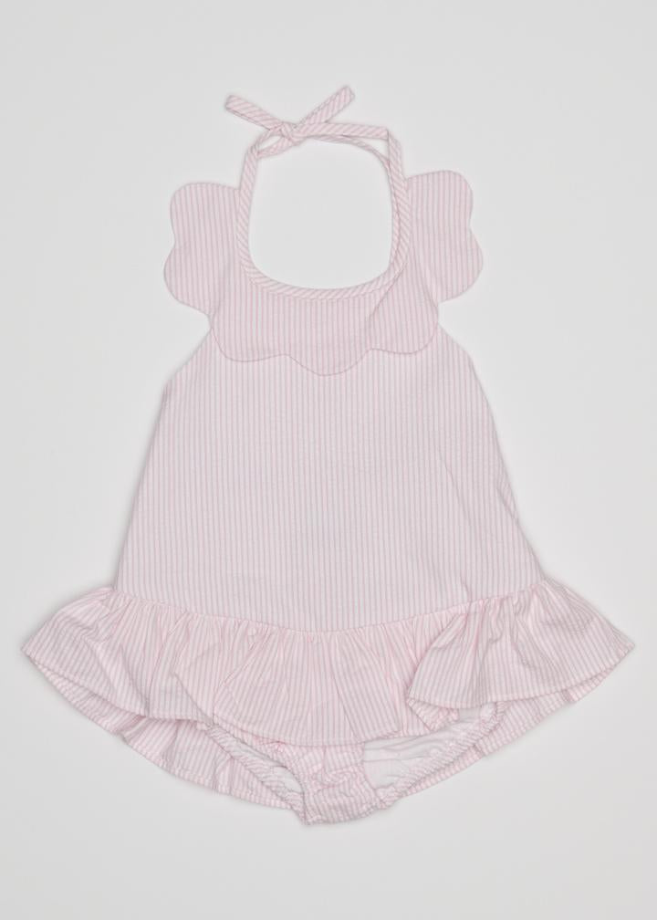 Little English - Scallop Swimsuit - Pink