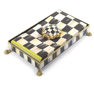 Mackenzie Childs Courtly Check Guest Napkin Set