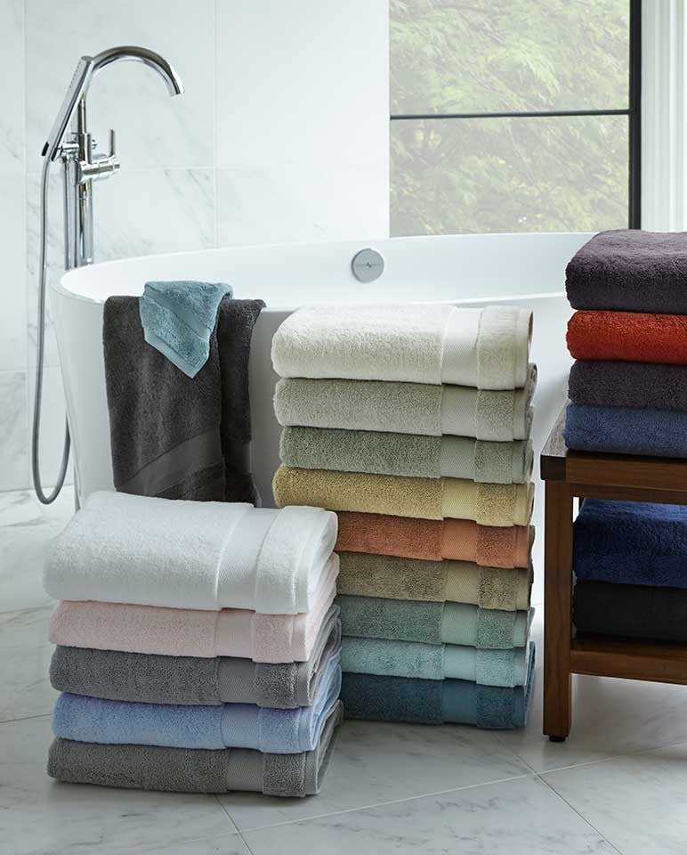 Sferra Bello Bath Towel Set of 4 White