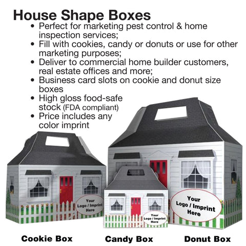 House shape cookie box s1-02102