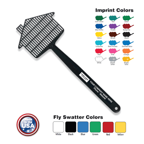 Mini House Fly Swatter with Your Logo Imprint